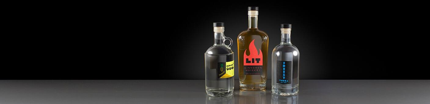 Shop all Glass Liquor and Spirits Bottles