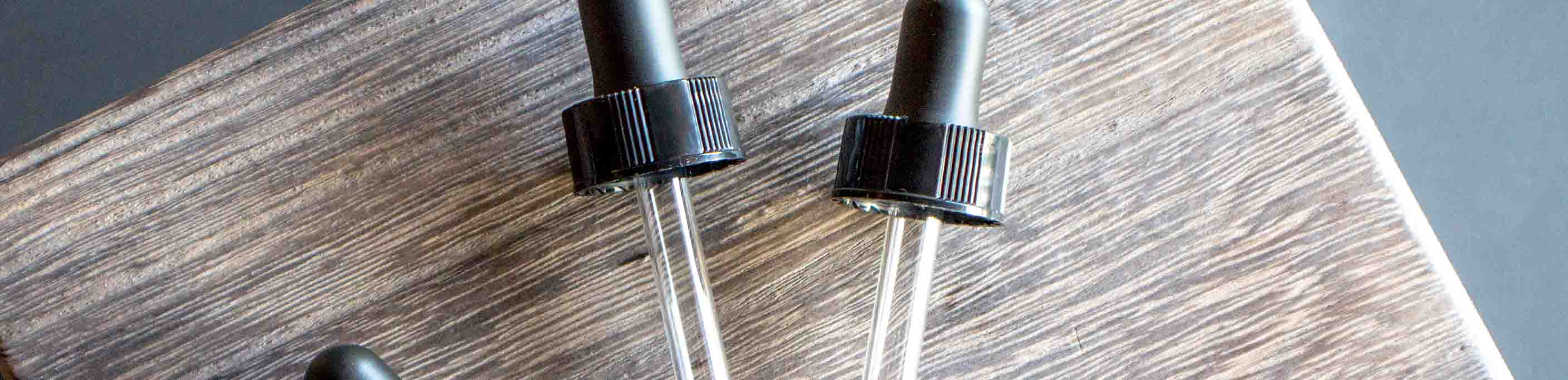 Essential Oil Droppers and Pipettes