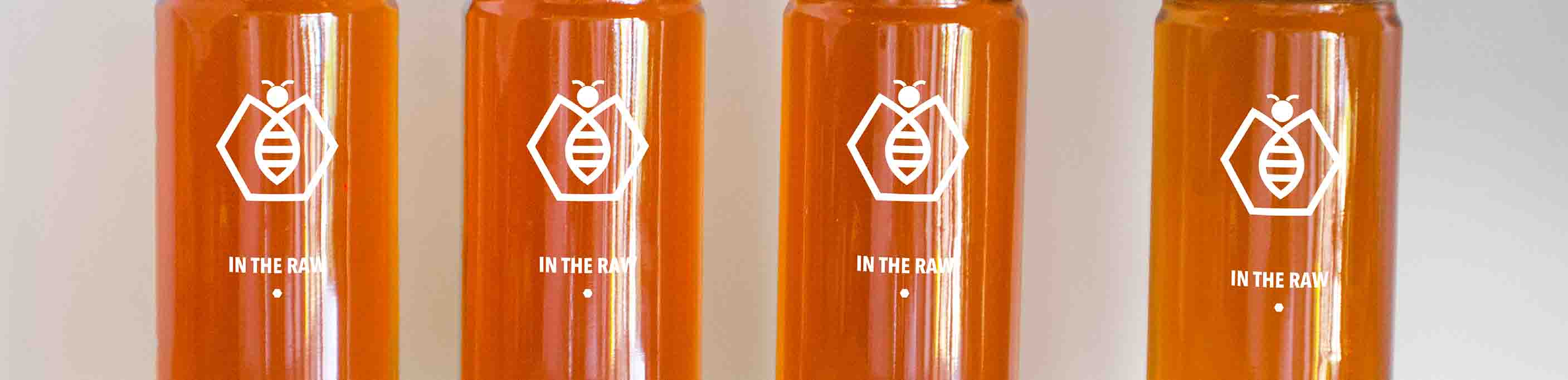 Tall and Slim Honey Jars - Oblong