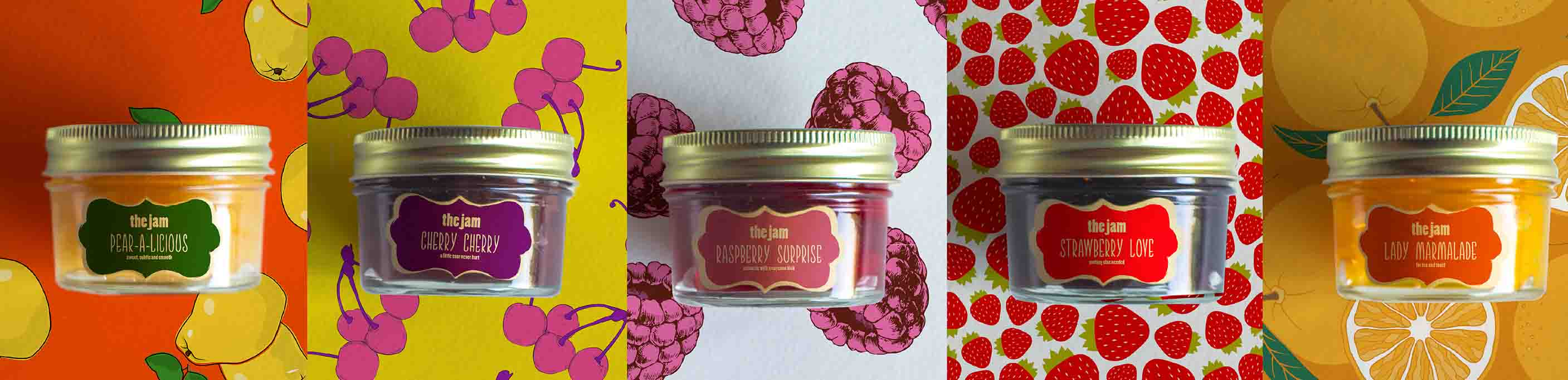 Jelly and Jam Jars