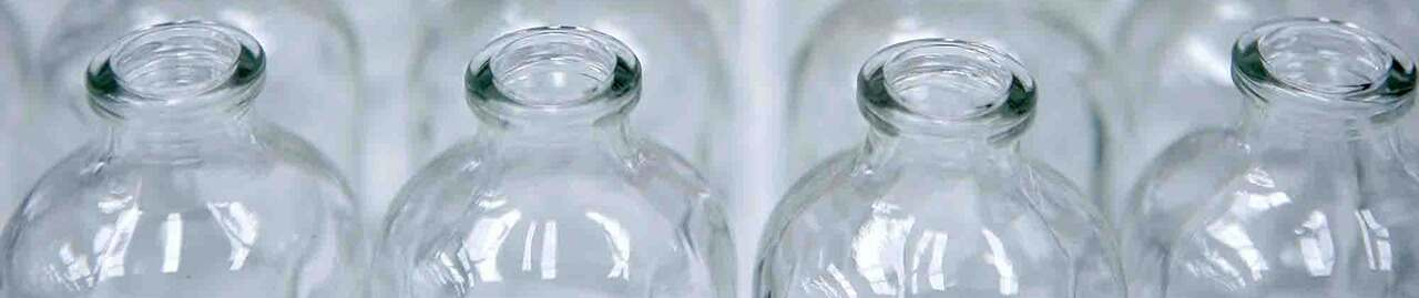 Glass Bottles Wholesale - 24 - Round