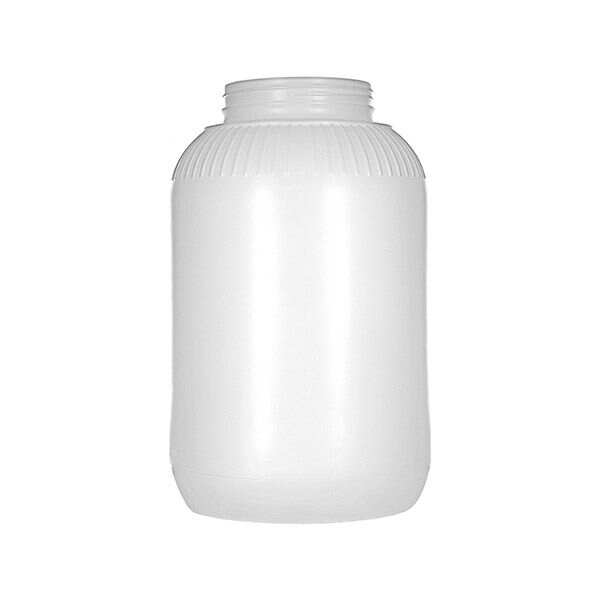 1Gallon (128oz) Natural HDPE Wide Mouth Round Plastic Jar - 89-400 Neck