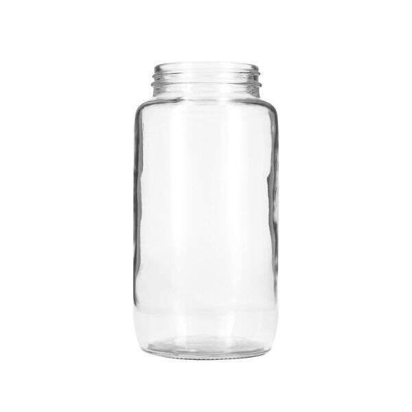 32oz Flint (Clear) Glass Economy Round Jar - 70-405 Neck