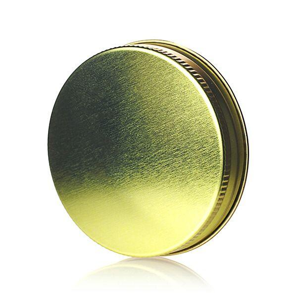 70-450 (70G) Gold Metal Screw Cap With Pulp and Poly Liner