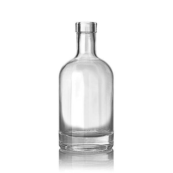 375ml (12.7oz) Flint (Clear) Nordic Spirits Bar Top - 18.5mm Neck