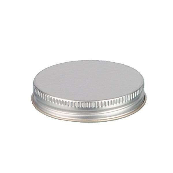 58-400 Silver Metal Screw Cap With Customizable Liner Options