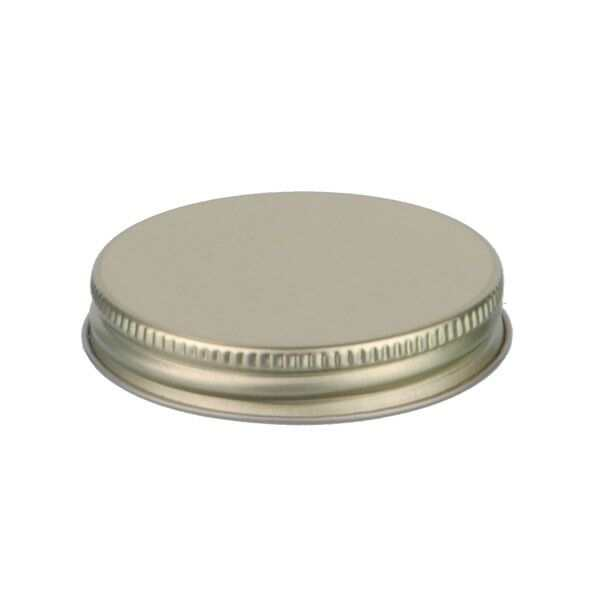 58-400 Gold Metal Screw Cap With Customizable Liner Options