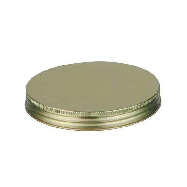 120-400 Gold Metal Screw Cap With Customizable Liner Options