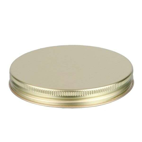 100-400 Gold Metal Screw Cap With Customizable Liner Options