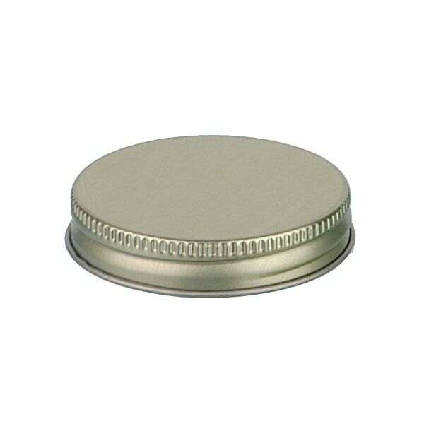 53-400 Gold Metal Screw Cap With Customizable Liner Options