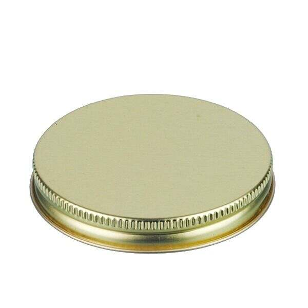 70-400 Gold Metal Screw Cap With Plastisol Liner