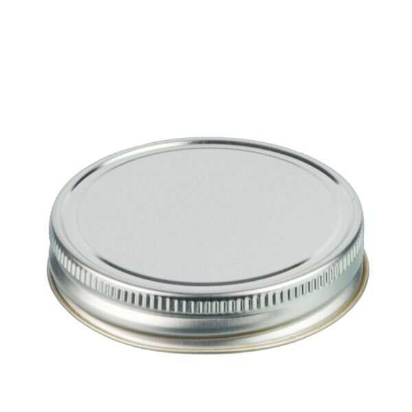 70G Silver Metal Screw Cap With Customizable Liner Options