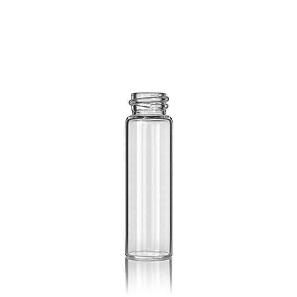 4 Dram (14.78ml) Flint (Clear)  Round Glass Vial - 18-400 Neck