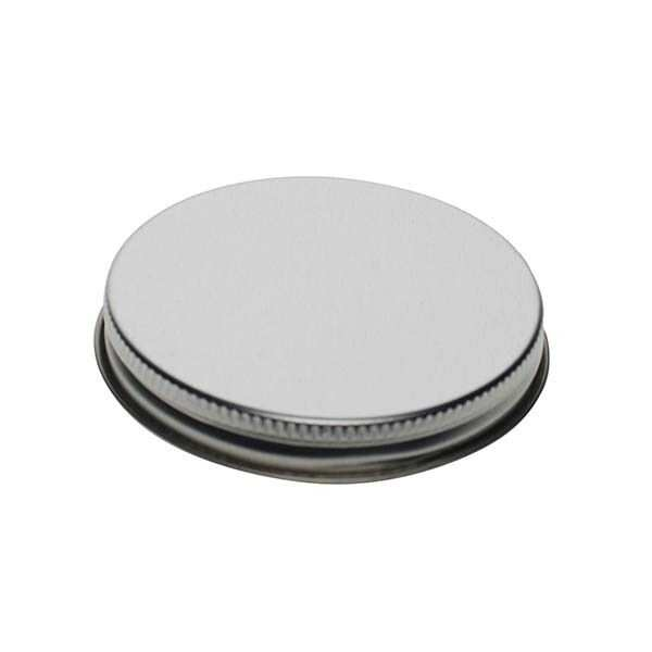 70-400 Silver Metal Screw Cap With Customizable Liner Options