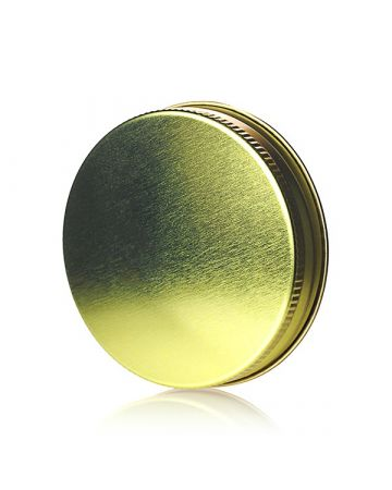 70G Gold Metal Screw Cap With Customizable Liner Options