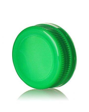 38-385 Green DBJ Rib Side Matte Top Drop Band Plug Seal Temper Evident Cap