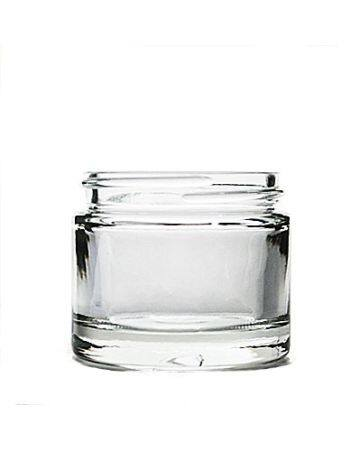 2oz Flint Heavy Weight Glass jar