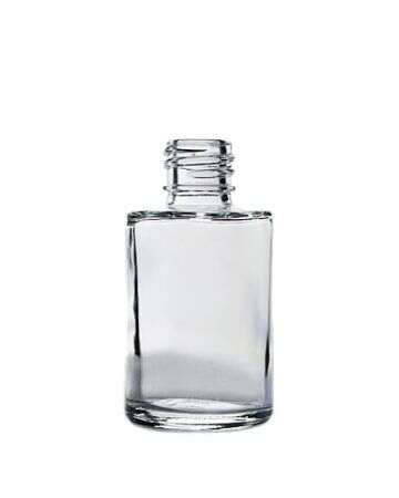 1oz Flint Glass Cylinder Bottle