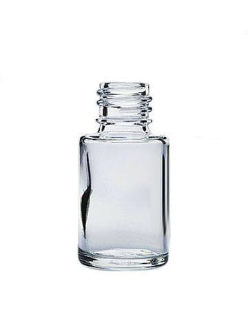 0.5oz Flint Glass Cylinder Bottle