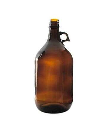 80oz Amber Acid Glass Bottle