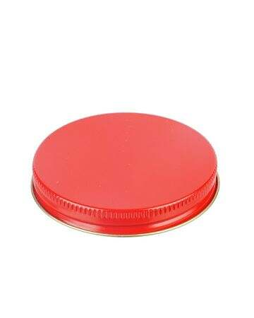 70-400 Red Metal Screw Cap With Plastisol Liner